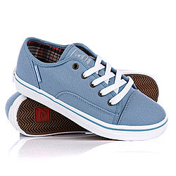 Кеды детские Quiksilver Little Ballast Cvs Blue/White/Gum