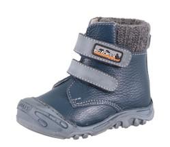Демисезонные ботинки Котофей. Цвет синий