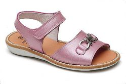 Туфли летние открытые розовые